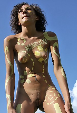 Fresh Girls Body Paint Porn Pictures